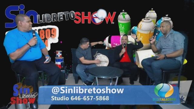 Sin Libreto Show EP54 El Gustico VIP Ravel Y Joel El Cantante Cumpleaños CongueroRD Digital809tv.com