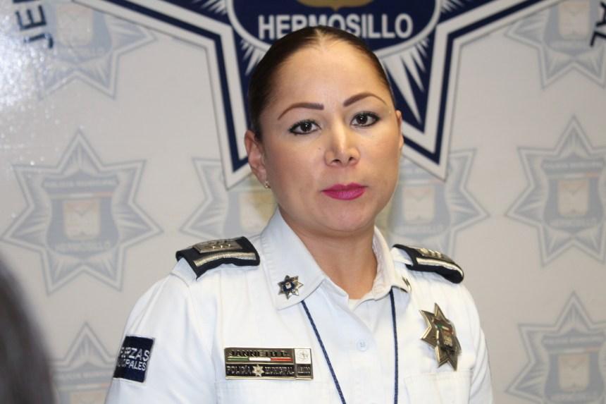 Janneth Elena Pérez Morales, directora de Tránsito de Hermosillo