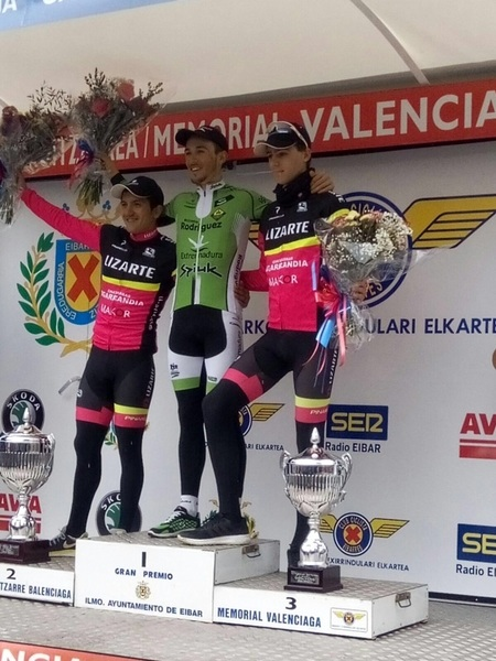 Podio en Valenciaga (Fuente: Biciciclismo.com)