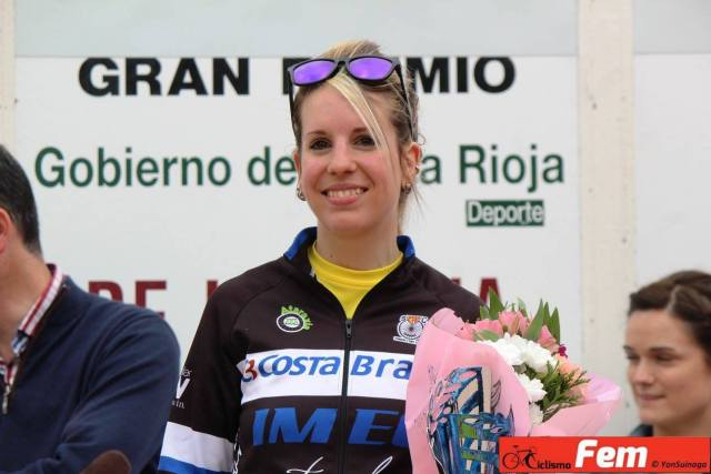 Lorena haciendo 3ª en el Trofeo de La Rioja de este año