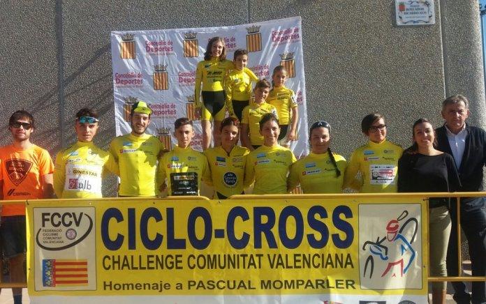 Todos los líderes de la Challenge de la Comunitat de Valencia (Foto: fccv.es)