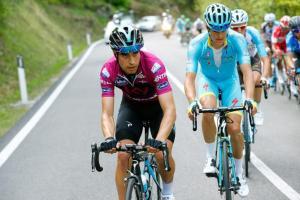 Mikel Landa (Sky) durante el Giro del Trentino