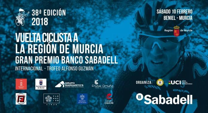 Cartel Vuelta Murcia 2018