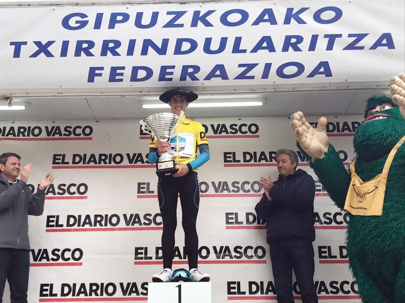 Podio Juan Pedro López Bidasoa