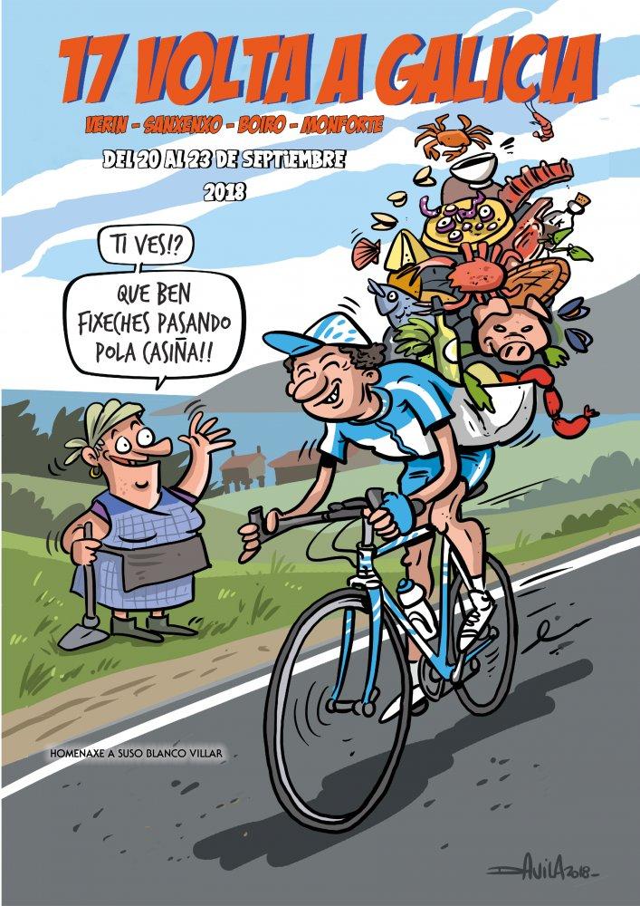 Cartel Volta Galicia 2018