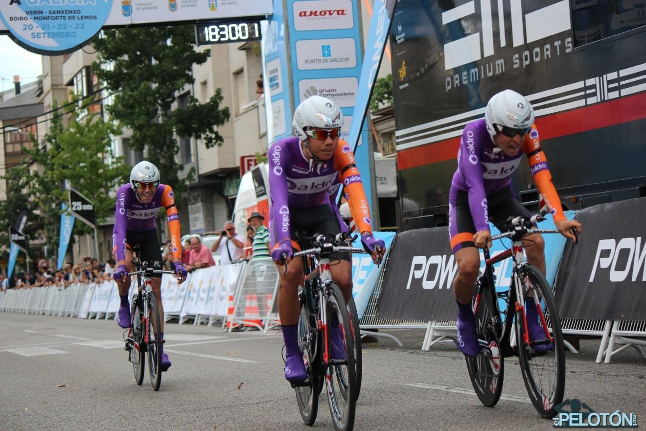 Aldro Team crono Galicia