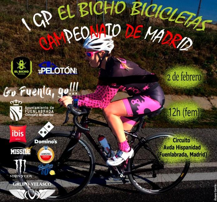 Cartel femenino Campeonato de Madrid 2019