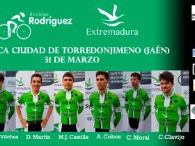 Alineación Torredonjimeno Bicicletas Rodríguez-Extremadura