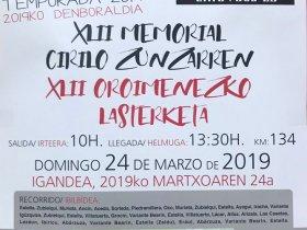 Cartel Estella 2019