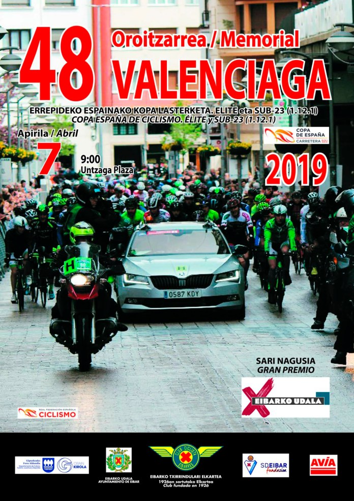 Cartel Memorial Valenciaga 2019