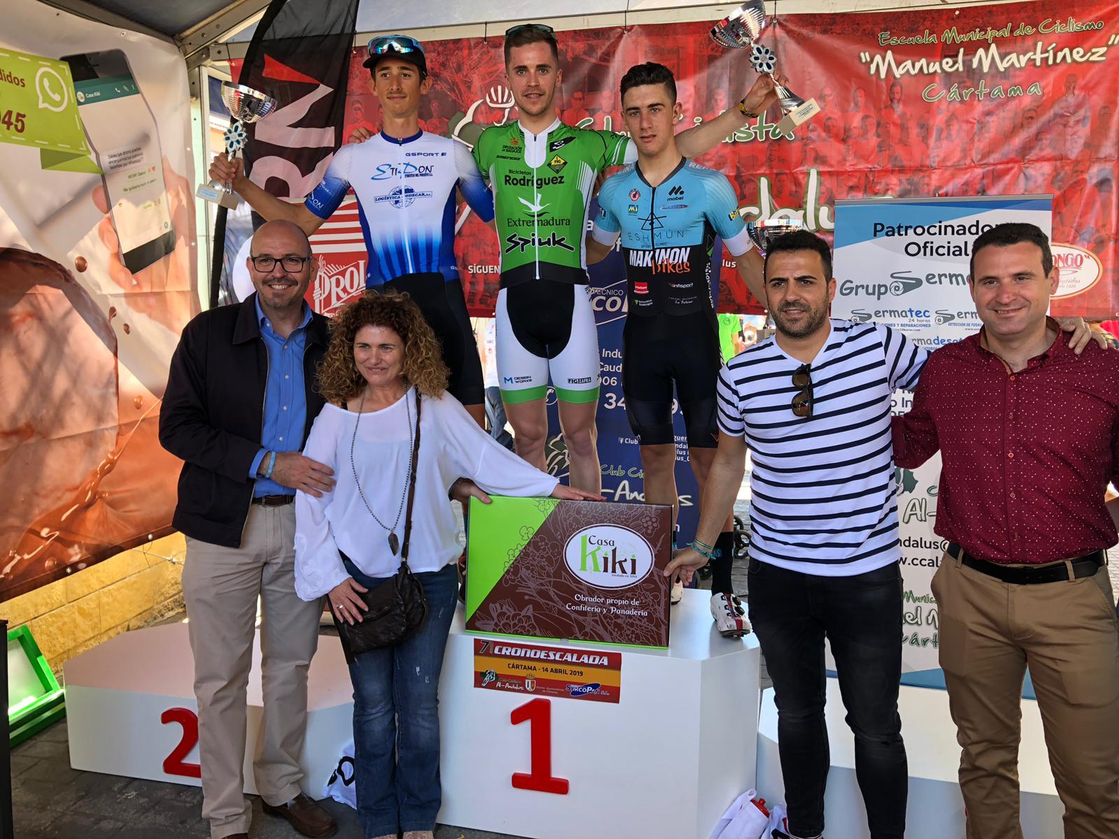 Manu Garrido Cartama Bicicletas Rodríguez Extremadura