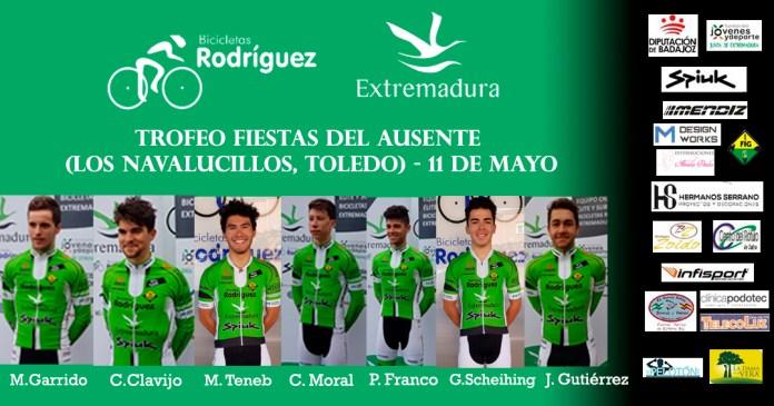 Alineación Navalucillos Bicicletas Rodríguez-Extremadura