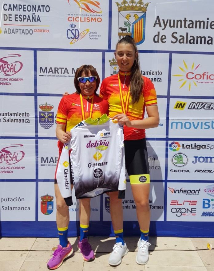Melisa Gomiz Pepi Benitez ciclismo adaptado delikia ginestar dfm