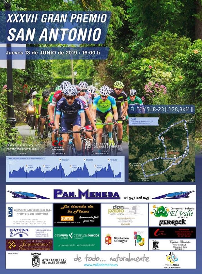 Cartel GP San Antonio Villasana de Mena