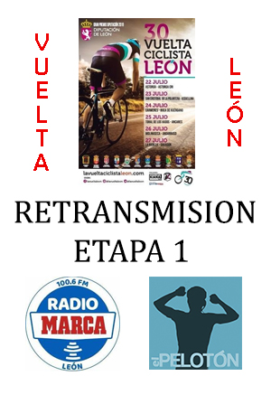 Retransmisión Vuelta León etapa 1