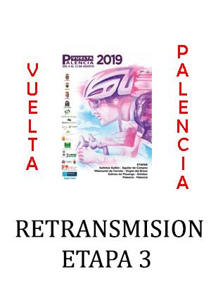 Retransmisión TV Vuelta Palencia etapa 3
