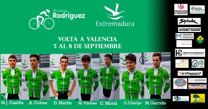 Alineación Valencia Bicicletas Rodríguez Extremadura