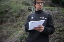 Alexis Gandía training