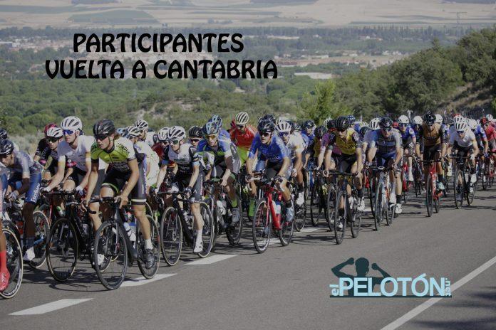 Participantes Vuelta Cantabria 2020