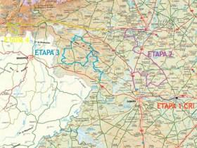 Mapa etapas Vuelta a Zamora 2021