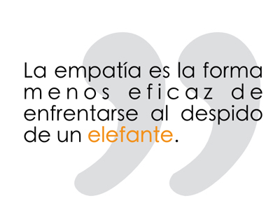 Empatía elefante
