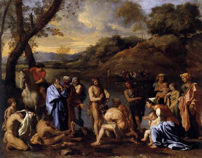 Resultado de imagen para Apareció Juan bautizando en el desierto, proclamando un bautismo de conversión para el perdón de los pecados.