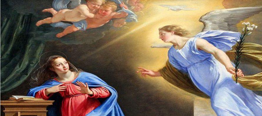Resultado de imagen para «No temas, María, porque has hallado gracia delante de Dios; vas a concebir en el seno y vas a dar a luz un hijo, a quien pondrás por nombre Jesús».
