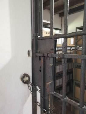 verja original de la prisión