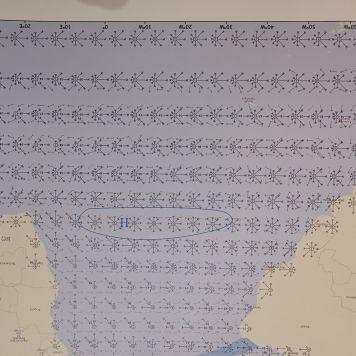 Grafico de vientos del atlántico sur