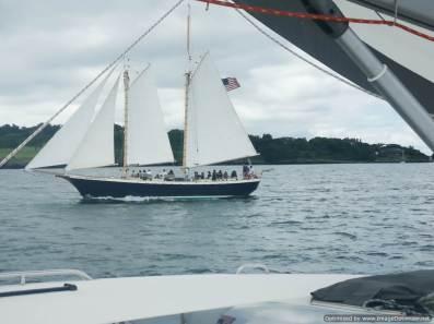 Uno de las docenas de barcos clasicos que hay en Nueva Inglaterra
