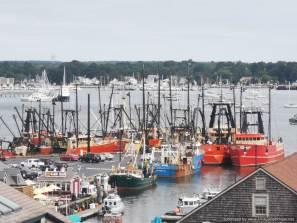 la flota pesquera de N Bedford