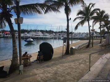 CN Santo Domingo, Playa Privada