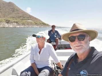 en Lago Enriquillo