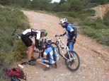 Reparando la bici