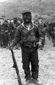 Chiapas, 1994.- Guerrillero Zapatista