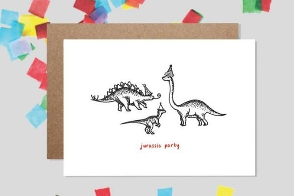 Making It Happen Interview With Illustrator Catherine Bamber jurassic party