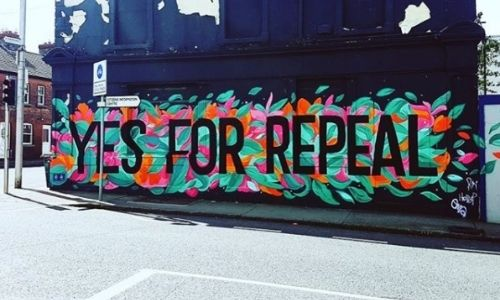 Making It Happen: Interview With Muralist Holly Pereira Yes For Repeal