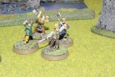 the four finished hobbit militia