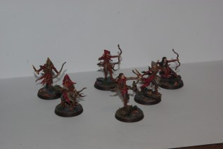 this is the batch I've painted this week