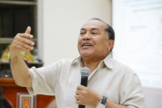 Amilkar Acosta, exministro de Minas y Energía.