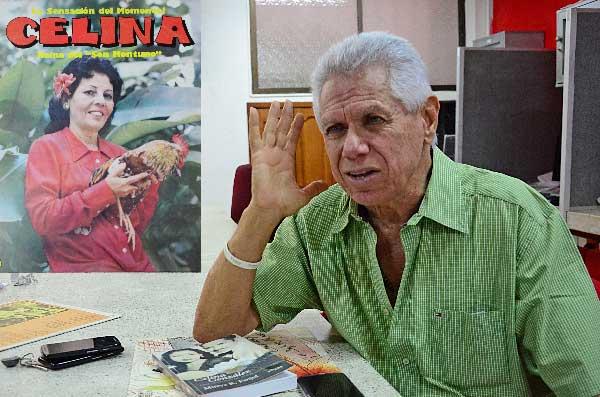 Los recuerdos de los amores con Julio Oñate quedaron en las fotografías que él guarda con cariño. JAIDER SANTANA/ EL PILÓN.