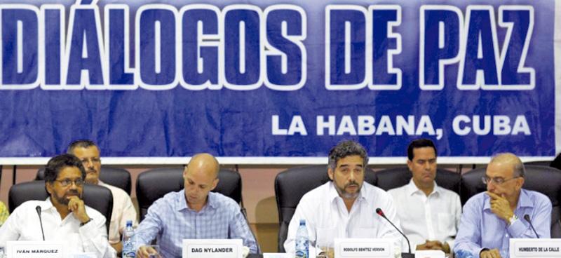 Ayer en La Habana, el Gobierno colombiano y delegados de las Farc hablaron sobre el punto de víctimas del conflicto con el fin de cerrar este tema pendiente.
