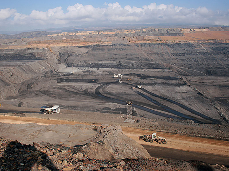 La mina de Cerrejón, en Albania, La Guajira.