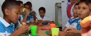alimentación escolar