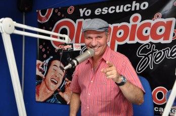 Javier Fernández, uno de los locutores especializados en música vallenata, más reconocidos en el Cesar.