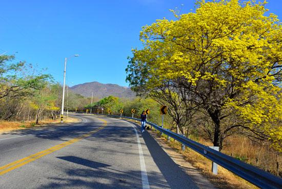 Vía al corregimiento de Río Seco, al norte de Valledupar.