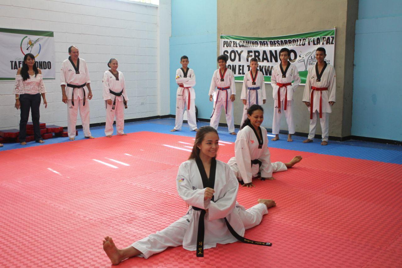 El taekwondo es uno de los deportes bandera en el departamento del Cesar. Ayer recibió su doyang.