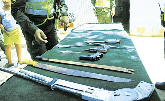 Los operativos contra la delincuencia los realizan en todo el Cesar.