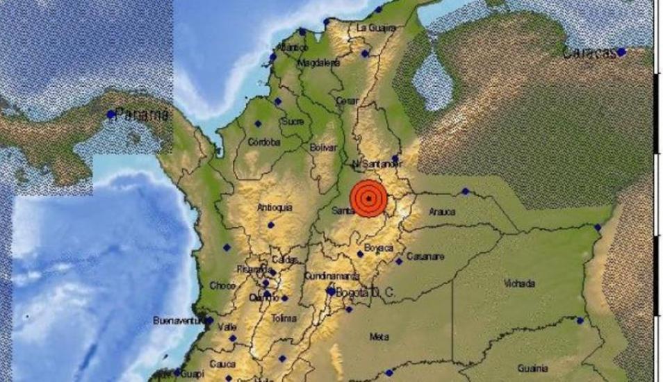 Fuerte temblor con epicentro en Santander también se sintió en Medellín