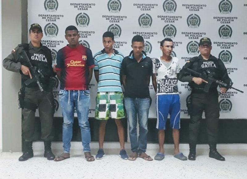 Presuntos extorsionistas tenían azotados a 11 barrios de Valledupar